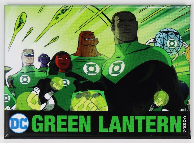 The Green Lantern Corps Fridge Magnet Justice League Dc