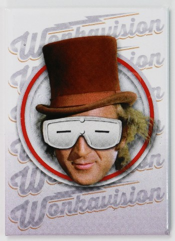 Willy Wonka Wonkavision Fridge Magnet Charlie And The