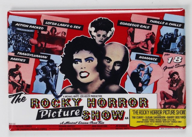 The Rocky Horror Picture Show Movie Poster Fridge Magnet