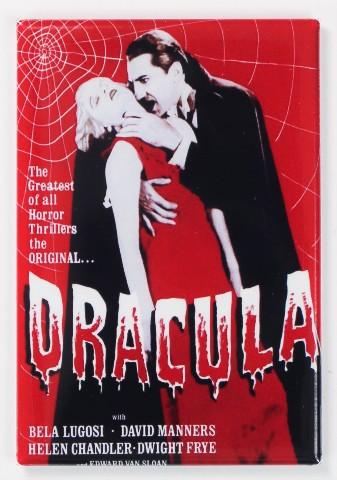 Dracula Movie Poster FRIDGE MAGNET Universal Monsters Bela Lugosi Vampire Horror
