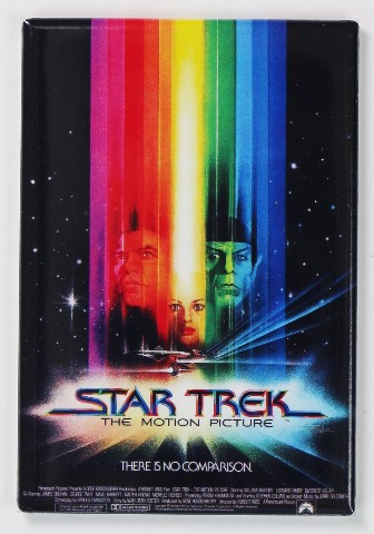 Star Trek The Motion Picture Movie Poster Fridge Magnet