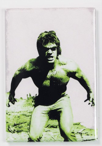 Incredible Hulk Lou Ferrigno FRIDGE MAGNET Marvel Comics 1970s