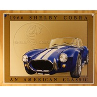 1966 Shelby Cobra American Classic Tin Sign Ford Ace Bristol AC Ford Sport B11