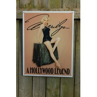 Marilyn Monroe Hollywood Tin Sign Garage Man Cave Bar Movie Star Pin Up Girl