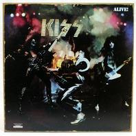 KISS Alive Album Cover Tin Sign Rock & Roll Vinyl Record Detroit Rock City C105