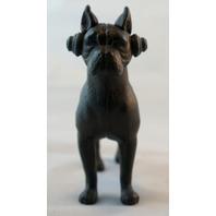 Beat Boxer Cast Iron Headphones Dog Decor Pop Art Hip Hop DJ Paper Weight