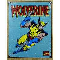 Wolverine Marvel Comics Tin Metal Sign Comic Book Superhero Retro Xmen X men C76