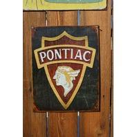 Pontiac Indian Head Logo Tin Sign Firebird Trans AM G8 GTO Judge Banshee GT