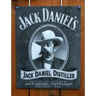 Jack Daniels Distiller Tin Metal Sign BootLegger Bar Beer Alcohol Whiskey D81