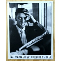 Elvis Presley Werthiemer Collection Tin Sign Graceland Sun Records B&W Photo F52