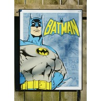Batman DC Comics Tin Metal Sign Comic Book Superhero Mancave Retro 5a