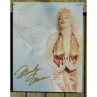 Marilyn Monroe Tin Sign Blonde Bombshell Classic Hollywood Movie Star Pin Up 18