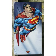 DC Comics Superman Tin Metal Sign Garage Man Cave Bar Business Super Hero G50