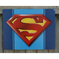 Superman Logo DC Comics Tin Sign Comic Book Superhero Man Cave Clark Kent NY 18a