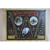 Winchester Ammo Tin Sign Duck Bird Trap Shoot Ammo Shells Gun Hunting 29a