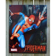Spiderman Marvel Comics Tin Metal Sign Comic Book Superhero Man Cave Retro 20