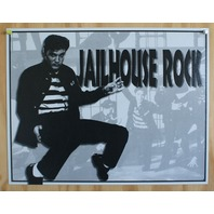 Elvis Presely Jailhouse Rock Tin Sign 50's Sun Records Graceland Rock n Roll