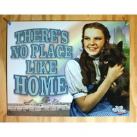 Wizard Of Oz No Place Like Home Tin Sign Movie Poster Dorothy Toto Kansas G39