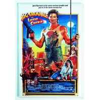 Big Trouble In Little China Movie Poster Refrigerator Fridge Magnet 1980's H31