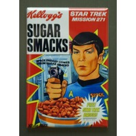 Kellogg's Sugar Smacks Mr Spock Star Trek Cereal Refrigerator Fridge Magnet G30