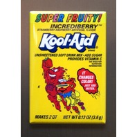 Super Fruity Incrediberry Kool Aid Refrigerator Fridge Magnet Kitchen Decor F4