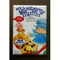 Betty Crocker Blueberry Muffin Mix Refrigerator Fridge Magnet Kitchen Decor K11