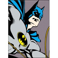 Batman Pixel pop art comic book style DC detective Super hero FRIDGE MAGNET G18