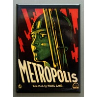 Metropolis Refrigerator FRIDGE MAGNET Movie Poster Art Deco Classic Film N21