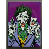 The Joker with cards Refrigerator FRIDGE MAGNET  Batman DC Comics Comic Book M22