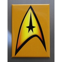 Star Trek Communicator Badge Logo Refrigerator FRIDGE MAGNET Spock TV Movie D27