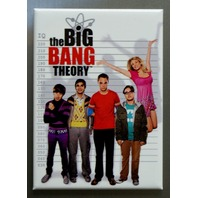 The Big Bang Theory Line Up Refrigerator FRIDGE MAGNET Sheldon Howard Raj O19
