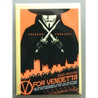 V For Vendetta Refrigerator FRIDGE MAGNET Guy Fawkes Mask Anonymous Movie O21