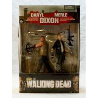 AMC Walking Dead Daryl Dixon Merle Dixon Brothers Set McFarlane Action Figures