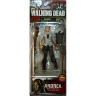 AMC Walking Dead Comic Book Andrea McFarlane Action Figures Zombies Rifle