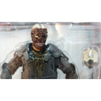 AMC Walking Dead Comic Book Riot Gear Zombie w/ Gas Mask McFarlane Action Figure
