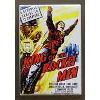 King of the Rocket Men Movie Poster Refrigerator FRIDGE MAGNET Sci Fi K15