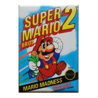 Nintendo Super Mario Bros 2 Refrigerator Fridge Magnet Arcade Video Game NES N5