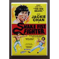 Jackie Chan Snake Fist Fighter Refrigerator Fridge Magnet Kung Fu Movie O10