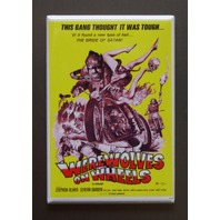 Werewolves On Wheels Refrigerator Fridge Magnet Movie Poster Motorcycle R6
