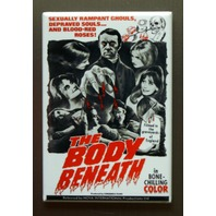 The Body Beneath Refrigerator Fridge Magnet Sci Fi Horror Movie Poster R11