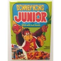 Donkey Kong Junior cereal refrigerator FRIDGE MAGNET 80s arcade classic W10