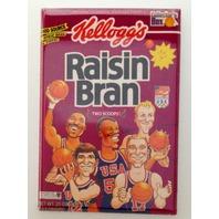 Kellogs Raisin Bran Dream Team refrigerator FRIDGE MAGNET Malone Bird USA W3