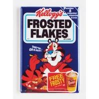 Kellogs Frosted Flakes Cereal  Wendys refrigerator FRIDGE MAGNET Tony Tiger V4