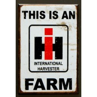 International Harvester Farm Fridge Magnet IH Country Home Farming Truck P2