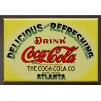 Drink Coca Cola Fridge Magnet Atlanta Coke Soda Pop Advertisement Classic AD D1