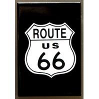 US Route 66 Highway FRIDGE MAGNET Hot Rod Garage Mechanic Car Truck Dinner D28
