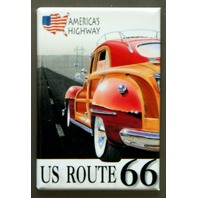 US Route 66 Americas Highway FRIDGE MAGNET Hot Rod Garage Mechanic Car Truck P4