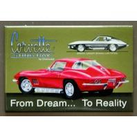 1967 Chevrolet Corvette Stingray FRIDGE MAGNET Chevy Sports Muscle Car D31