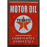 Texaco Motor Oil FRIDGE MAGNET Gasoline Gas Service Station Garage Standard P6