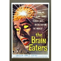 The Brain Eaters Refrigerator Fridge Magnet Sci Fi Film Horror Scary Movie L12